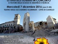 Reconstructing With Music – Concert for the Schools of Amatrice and Norcia